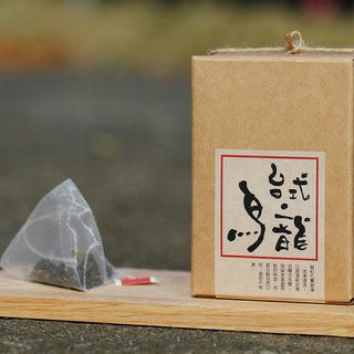 [Simple life, simple drink tea] - Desktop Oolong tea bag [10 package revenue]