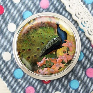 Peacock Open - Jewelry Storage Box / Storage Products / Mirror Box [Special U Design]