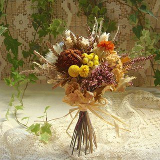 Masako dried autumn bouquet birthday gift a limited time outdoor photo props