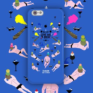 ▷ Umade ◀ commute like martini party [iPhone7 (i7, i7plus, i6, i6s, i6plus, i6splus, i5se, i5s, i5c) / Android (Samsung, Samsung, HTC, Sony) Phone Case / Accessories - matte hard shell - artists] Angke Lu uncu