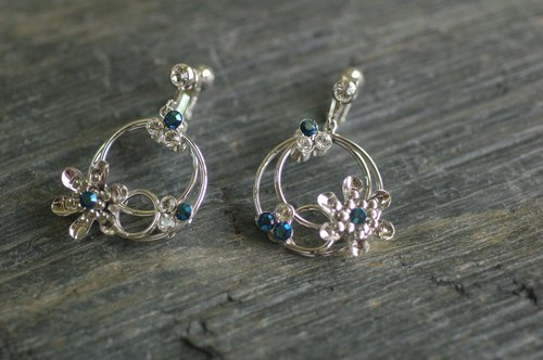 She Shines [xi] Shuangmianjiaowa Buy (double-sided design earrings)