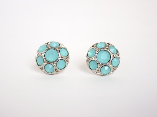 [Circle dot] Wang insect shell Aqua