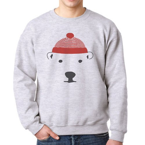RED-WOOL-HAT Changeable color jumper, Grey