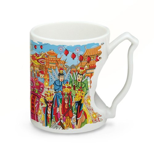 Taiwan Featured Series Mug - Temple