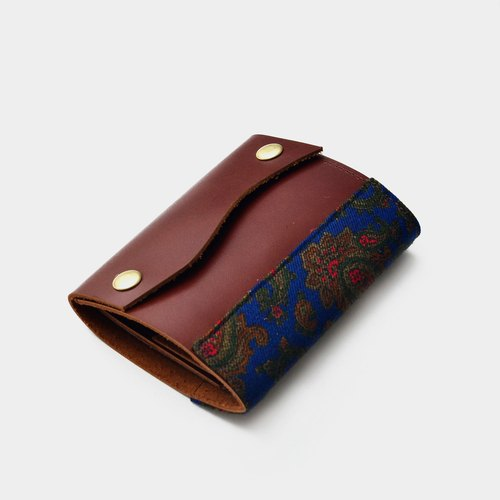 [Variety of insects change the meaning of lover] multi-functional minimalist leather wallet wallet leather short clip wallet + banknotes + card, card