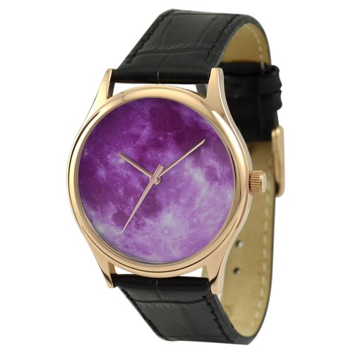 Moon Watch (Purple) rose gold shell