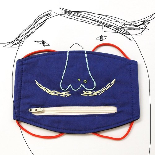 Ultra stylish guy notoginseng separately Face masks / zipper purse / exchange gifts
