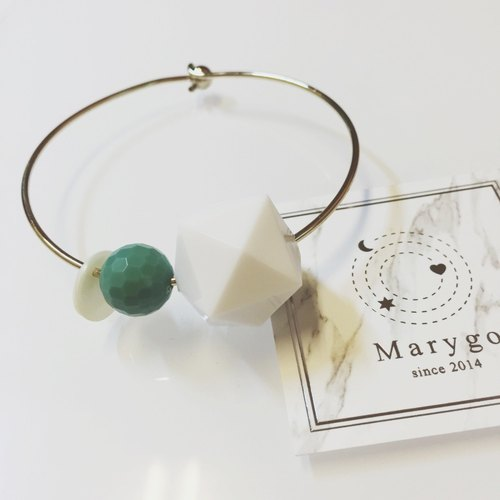 Marygo ﹝ refreshing color gold bracelet geometry ﹞