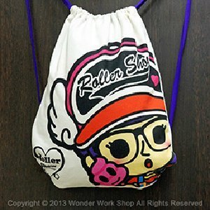 Arale Roller canvas pouch
