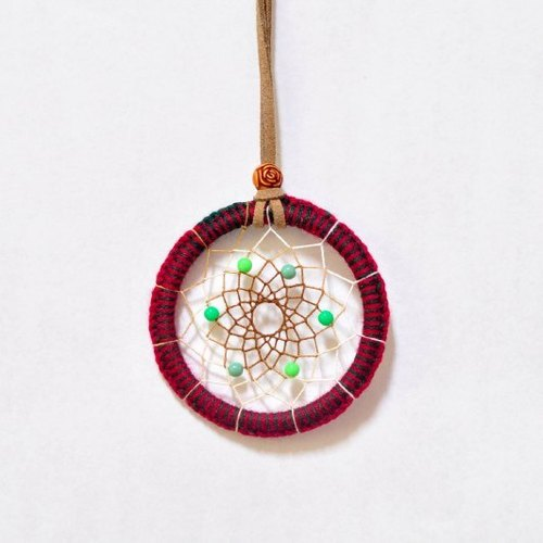 [DreamCatcher. Dreamcatcher necklace] Merry Christmas