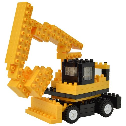 """JEKCA plot card Variety building blocks"" excavator"