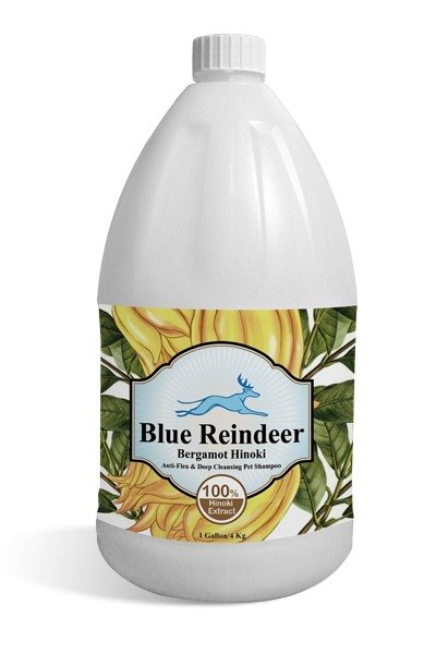 Blue Reindeer natural bergamot essence scouring cypress worming deep cleaning