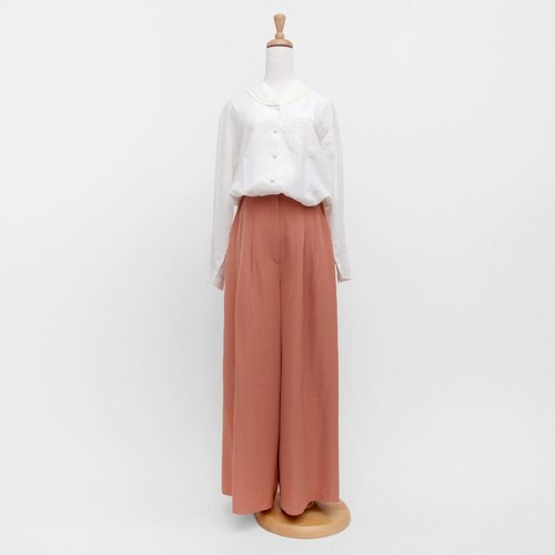 │moderato│ pink loose temperament retro vintage skirts │ Forest. England. Art youth