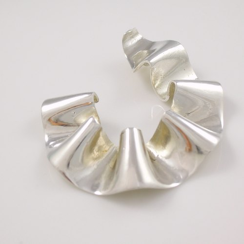 Waves - Silver Necklace