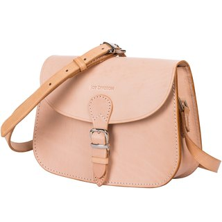 Leather-shop Handmade vegetable tanned female bag primary color small bag shoulder saddle bag female retro bag Messenger bag