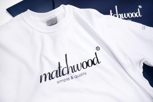 Matchmill Design Matchwood 2015 Limited Memorial Classic LogoTee American Standard High Comfort Roller Short T 100% Cotton White