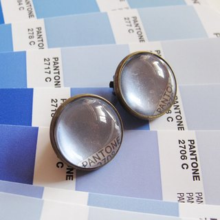 PANTONE 2708 color ticket round the ear clip ear acupuncture