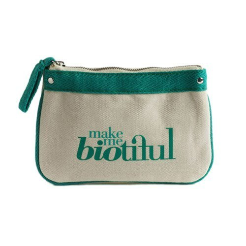 法國my biotiful bag有機棉Small Flat Pouch-Green