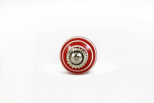 [SUSS] red swirl designer handle _ applicable cabinet / drawer / door handles / handle (small)