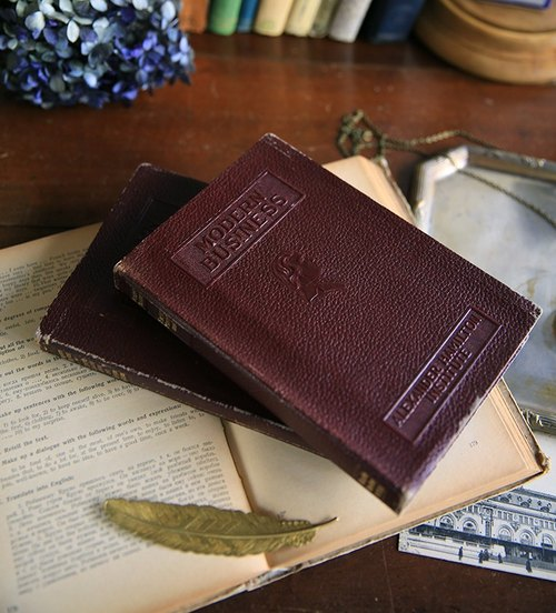 Story props No.63 ancient old antique book / books