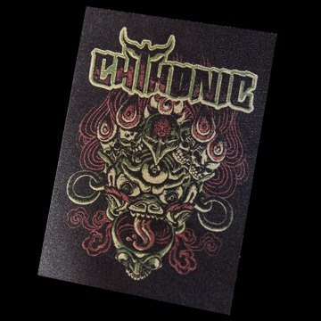 "Shining ""Mahakala - members skeleton"" Cloth Stickers"