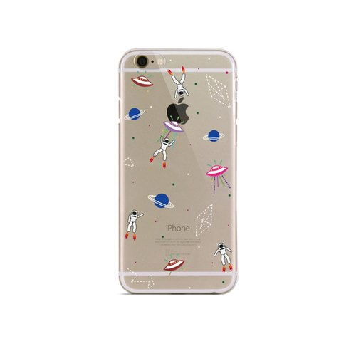 Girl apartment :: Artshare x iphone 6 plus transparent Phone Case - Astronaut