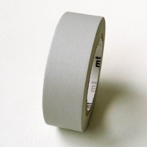 mt and paper tape Basic [landless plain - light gray (MT01P312)]