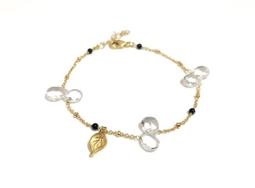 Simple Rock Crystal Bracelet