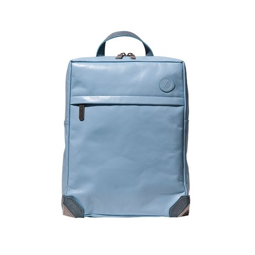 [2015 HANDOS X YGL joint design HERRY MINI Leather Backpack (light blue)]