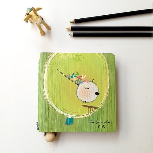 Beautiful mood。pocket notebook / sketchbook / notebook