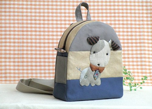 wonderland22 gentleman Dog Bag