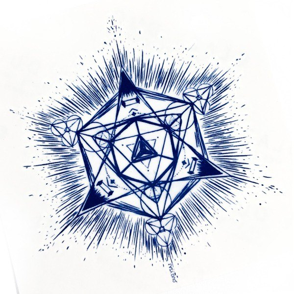 828838749 Bohemian Geometry Diamond Star Summer Party Boho Hippie Temporary Tattoo  Sticker - Designer LAZY DUO TATTOO | Pinkoi
