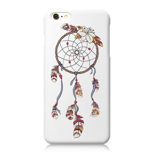 iPhone Series [dreamer の Dreamcatcher H] white shell - Big Tail rogue Tattoo Phone Case