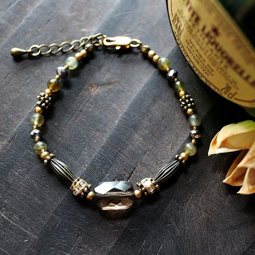 EF retro retro palace series NO.30 brown citrine diamond bracelet