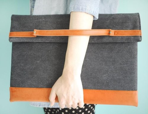 YIZISTORE wrist computer bags computer bag - Orange