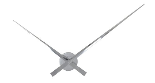 NeXtime - Hands Silver Pointer Clock