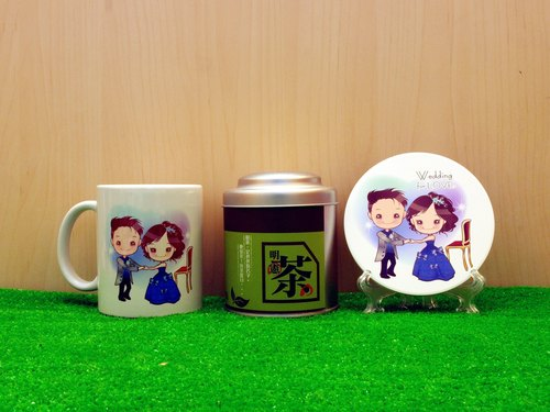 """Father Tea X Wedding for LOVE"" wedding series - sapphire dance. Tea gift"