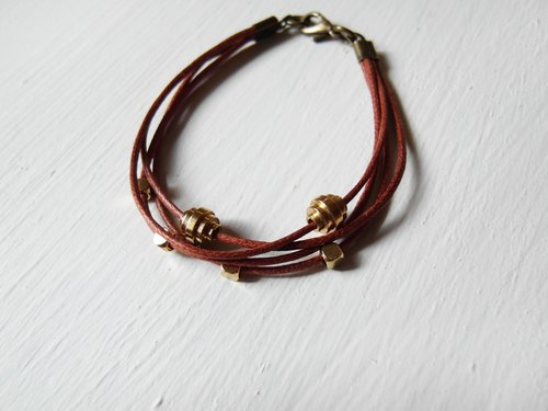 Any changes / brass handmade bracelet