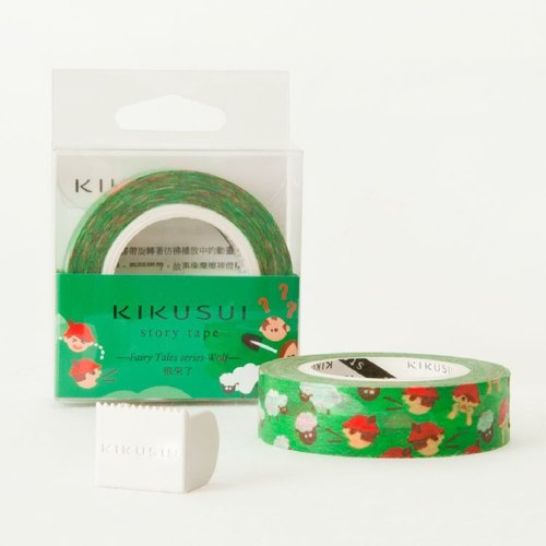 Kikusui KIKUSUI story tape and paper tape fairy wolf series - wolf