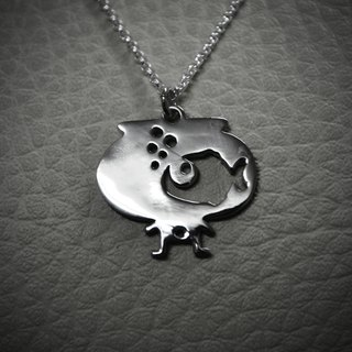 【Peej】'Big Dreamer' Handmade 925 Sterling Silver Pendant and necklace