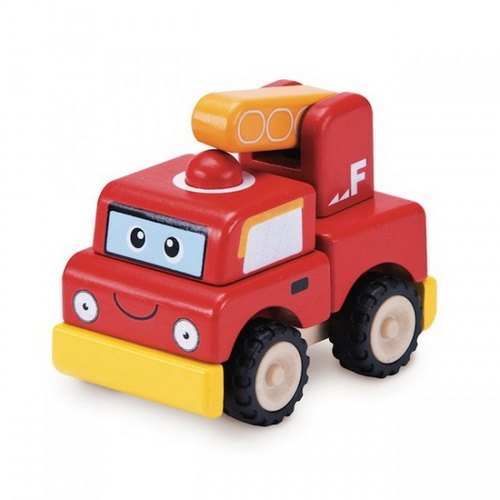 """WonderWorld"" stack assembled fire truck"