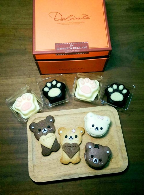 Valentine's Day special limited couple bear gift box (eight into)