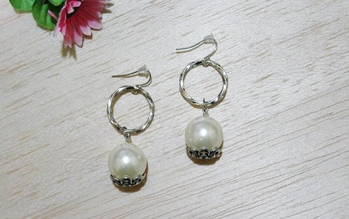 Alloy * * _ hook imitation pearl earrings series
