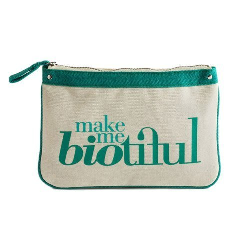 法國my biotiful bag有機棉Big Flat Pouch-Green