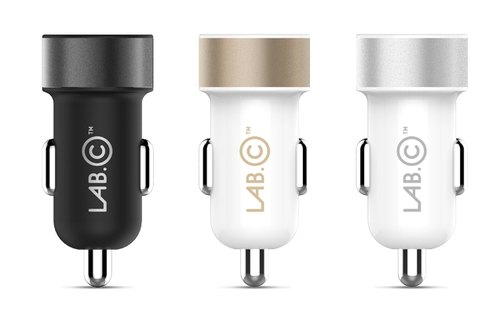 LAB.C Dual USB Car Charger A.L-3.4A 汽車充電器