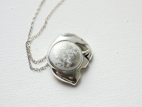 Petite Fille] [handmade silver sterling silver necklaces elephant festival