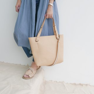 KARRIE CROSSBODY&SHOULDER BAG (CREAM)