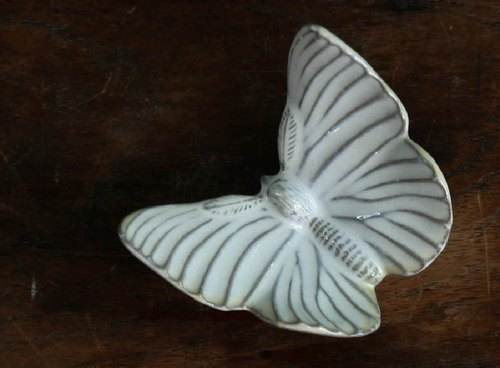 Yarnnkarn handmade porcelain series / butterfly Furnishings