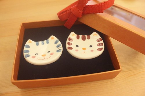 Tabby cat lover ~ chopsticks holder set wedding ♡ little things ♡