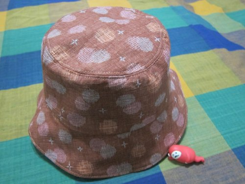 [Huarong Yue small cap] Kyoto (double-sided can wear)